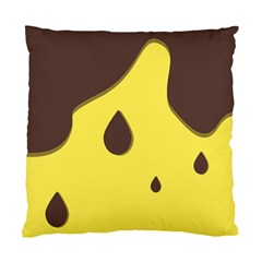 Chocolate Yellow Cake Banana Standard Cushion Case (two Sides)