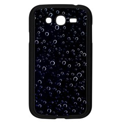 Blued Dark Bubbles Print Samsung Galaxy Grand Duos I9082 Case (black) by dflcprintsclothing