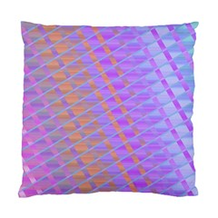 Diagonal Line Design Art Standard Cushion Case (one Side)