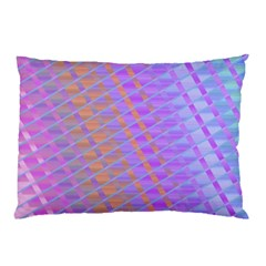 Diagonal Line Design Art Pillow Case