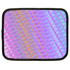 Diagonal Line Design Art Netbook Case (xxl) by LoolyElzayat