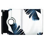 Blue banana leaves Apple iPad 2 Flip 360 Case Front