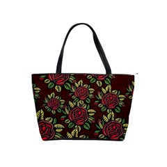 Roses Red Classic Shoulder Handbag