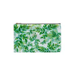 Tiny Tree Branches Cosmetic Bag (small) by WensdaiAmbrose