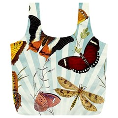My Butterfly Collection Full Print Recycle Bag (xl) by WensdaiAmbrose