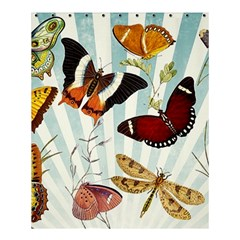 My Butterfly Collection Shower Curtain 60  X 72  (medium)  by WensdaiAmbrose