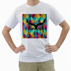 Mardi Gras Men s T Shirt (white) (two Sided) by WensdaiAddamns