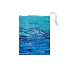 Into The Chill  Drawstring Pouch (small)