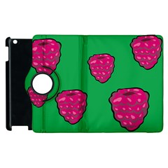Food Fruit Sweet Raspberry Apple Ipad 2 Flip 360 Case