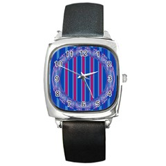 Digital Art Artwork Abstract 3d Square Metal Watch