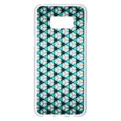Digital Art Triangle Samsung Galaxy S8 Plus White Seamless Case