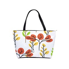 Tree Auntumn Leaf Classic Shoulder Handbag by Alisyart