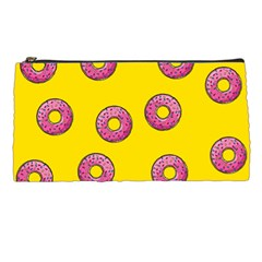 Background Donuts Sweet Food Pencil Cases