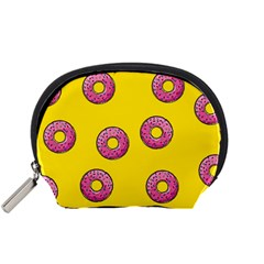 Background Donuts Sweet Food Accessory Pouch (small)