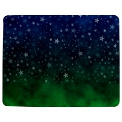 Background Blue Green Stars Night Jigsaw Puzzle Photo Stand (rectangular) by Alisyart