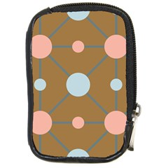 Planets Planet Around Rounds Compact Camera Leather Case