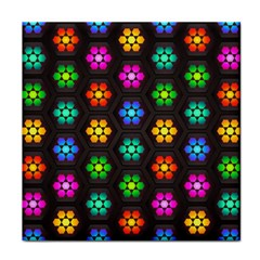 Pattern Background Colorful Design Tile Coasters by Desi8477