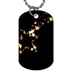 Shooting Star Dog Tag (one Side) by WensdaiAddamns
