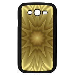 Background Pattern Golden Yellow Samsung Galaxy Grand Duos I9082 Case (black)