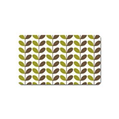 Leaf Plant Pattern Seamless Magnet (name Card)
