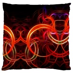 Background Fractal Abstract Standard Flano Cushion Case (two Sides)