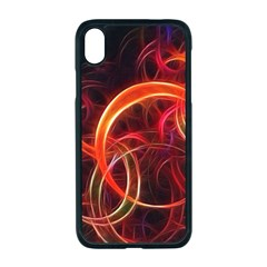Background Fractal Abstract Apple Iphone Xr Seamless Case (black)