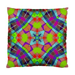 Farbenpracht Kaleidoscope Pattern Standard Cushion Case (one Side)
