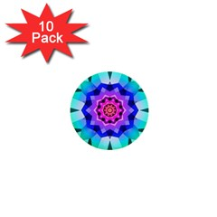 Ornament Kaleidoscope 1  Mini Buttons (10 Pack)