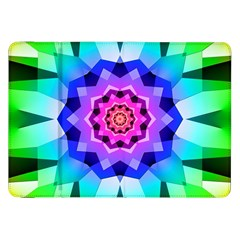 Ornament Kaleidoscope Samsung Galaxy Tab 8 9  P7300 Flip Case by Pakrebo