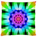 Ornament Kaleidoscope Standard Flano Cushion Case (One Side) Front