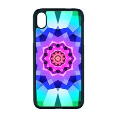 Ornament Kaleidoscope Apple Iphone Xr Seamless Case (black)