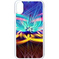 Colorful Chakra Lsd Spirituality Apple Iphone Xs Seamless Case (white)
