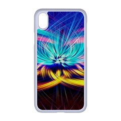 Colorful Chakra Lsd Spirituality Apple Iphone Xr Seamless Case (white)