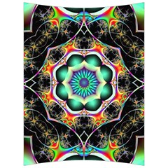 Fractal Chaos Symmetry Psychedelic Back Support Cushion