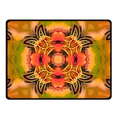 Fractals Graphic Fantasy Colorful Double Sided Fleece Blanket (small)