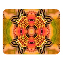 Fractals Graphic Fantasy Colorful Double Sided Flano Blanket (large)  by Pakrebo