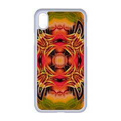 Fractals Graphic Fantasy Colorful Apple Iphone Xr Seamless Case (white)