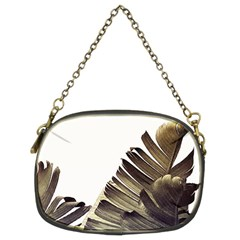 Vintage Banana Leaves Chain Purse (two Sides) by goljakoff