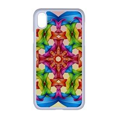 Pattern Tile Background Image Deco Apple Iphone Xr Seamless Case (white)