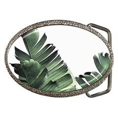 Banana Leaf Belt Buckles by goljakoff