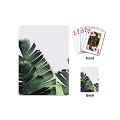 Banana Leaf Playing Cards (mini) by goljakoff