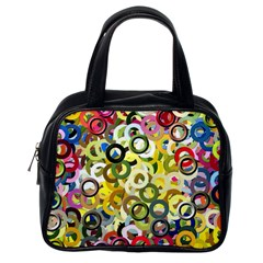Pattern Background Abstract Color Classic Handbag (one Side) by Pakrebo