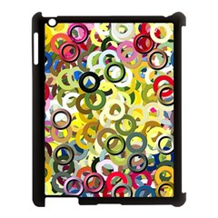 Pattern Background Abstract Color Apple Ipad 3/4 Case (black)
