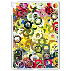 Pattern Background Abstract Color Apple Ipad Pro 9 7   White Seamless Case