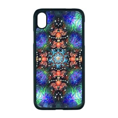 Mosaic Kaleidoscope Form Pattern Apple Iphone Xr Seamless Case (black)