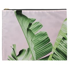 Banana Leaf Cosmetic Bag (xxxl) by goljakoff