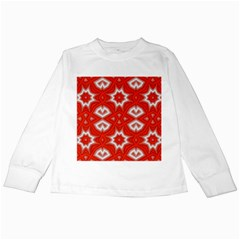 Background Wallpaper Texture Kids Long Sleeve T Shirts by Pakrebo