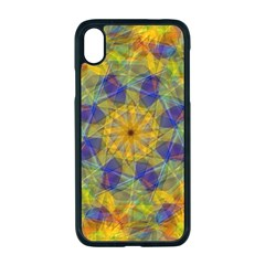 Farbenpracht Kaleidoscope Apple Iphone Xr Seamless Case (black)