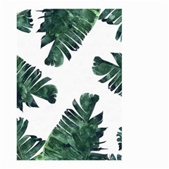 Tropical Leaves Small Garden Flag (two Sides) by goljakoff
