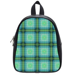 Background Pattern Structure School Bag (small)